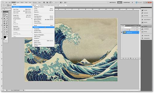 HỌC ĐỒ HỌA|Photoshop CS5 - Các menu cơ bản